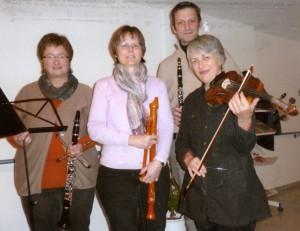 Quartet Klarinette Flöte